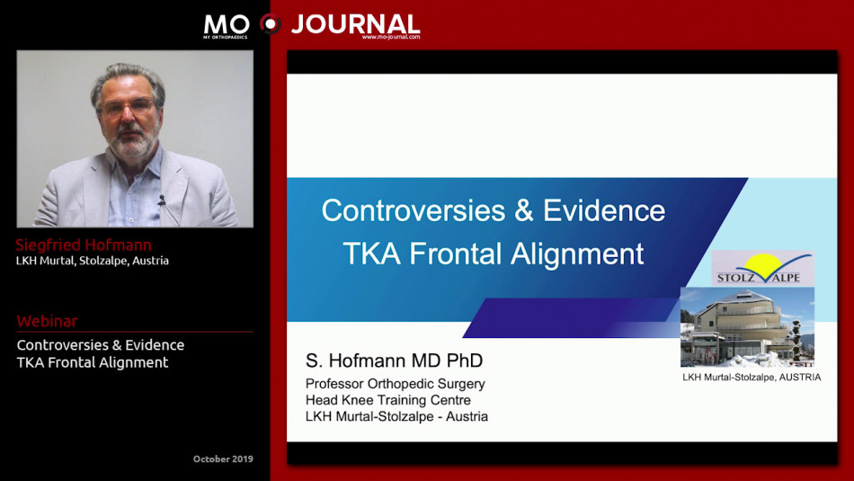 Controversies & Evidence - TKA Frontal Alignment