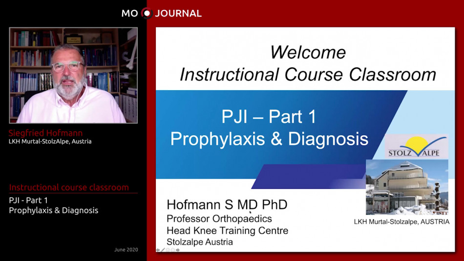 Instructional Course : PJI - Prophylaxis and Diagnosis