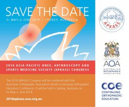 Asia Pacific Knee, Arthroscopy and Sports Medicine Society Congress