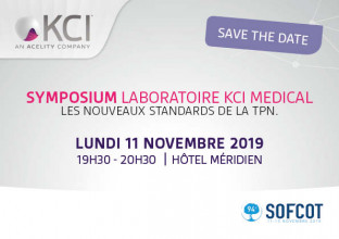 SYMPOSIUM LABORATOIRE KCI MEDICAL : LES NOUVEAUX STANDARDS DE LA TPN